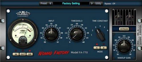 Nomad Factory Blue Tubes Limiter FA770