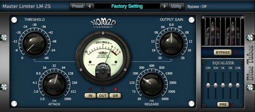 Nomad Factory Blue Tubes Limiter LM2S