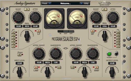 Nomad Factory ASP Program Equalizer EQP-4