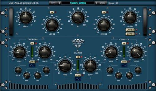 Nomad Factory Blue Tubes Analog Chorus CH2S