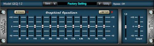 Nomad Factory Blue Tubes Equalizer GEQ12